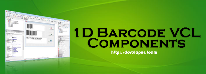 Han-soft 1D Barcode VCL Components 7.1.0.2075