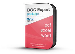 Ultimate Document Expert Package for .NET - PDF, Word, and Excel v6.8.4117