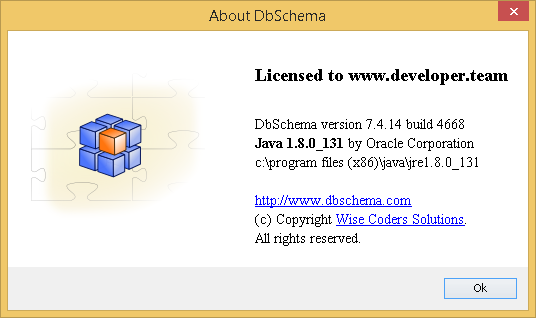 DbSchema 7.4.14 Build 4668 Retail