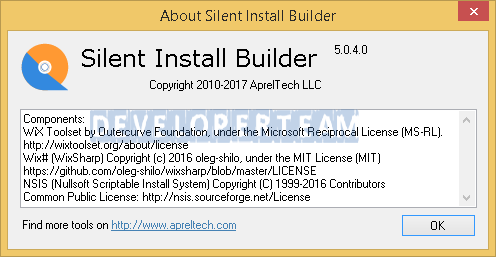 Silent Install Builder 5 0 4 » Developer Team - The Best