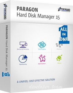 Paragon Hard Disk Manager 15 Premium 10.1.25.1125 + Boot Medias