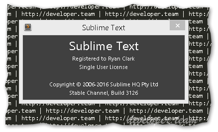 Sublime Text 3 Dev Build 3133