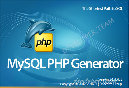 PHP Generator for MySQL Professional 17.10.0.3