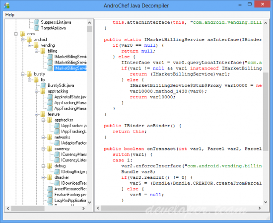 AndroChef Java Decompiler 1.0.0.13