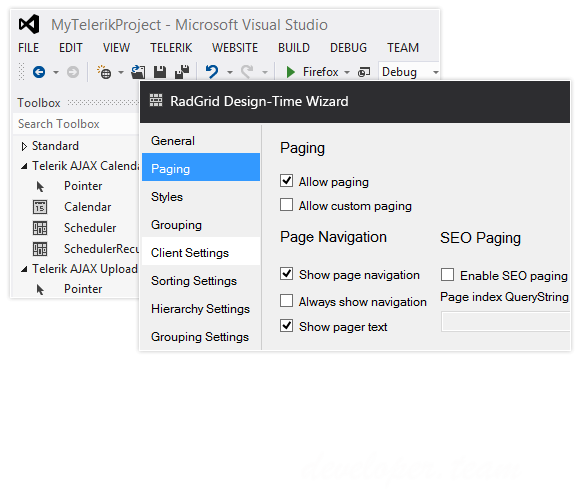 Telerik UI for ASP.NET AJAX R2 2017 (version 2017.2.503) with Source