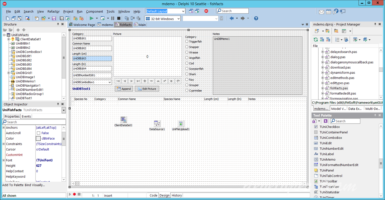 FMSoft uniGUI Complete Professional with Runtime & Theme