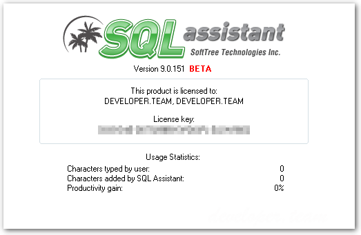 SoftTree SQL Assistant 9.5.444 Enterprise Edition