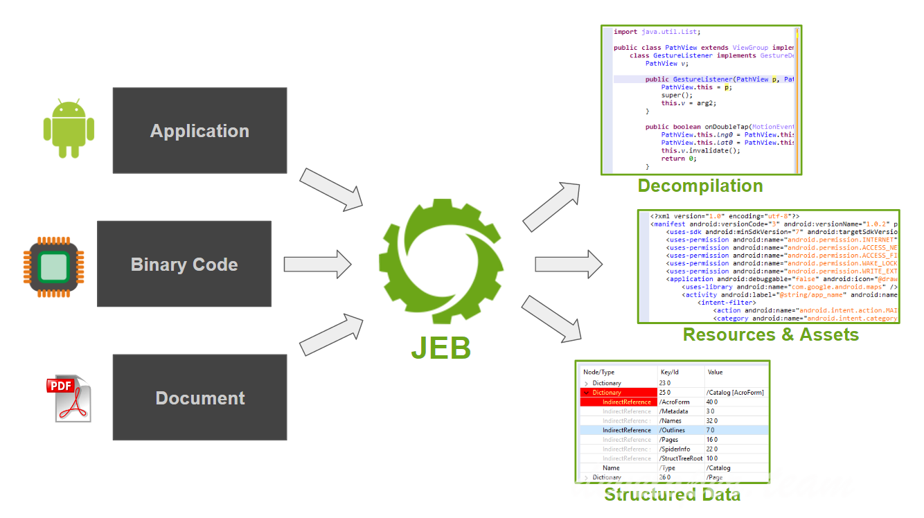 JEB Decompiler 2.3.12