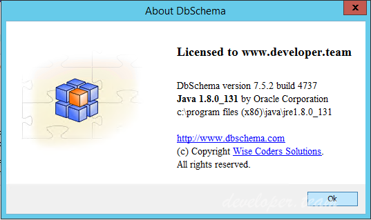 DbSchema 7.5.2 Build 4809 Retail