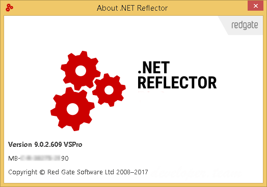 Red Gate .NET Reflector 9.0.2.609 VSPro