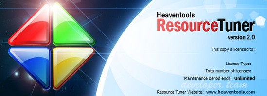 Heaventools Resource Tuner 2.10