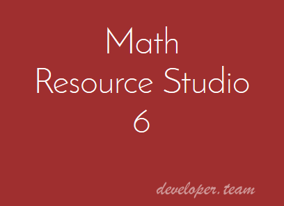 Schoolhouse Technologies Math Resource Studio 6.1.5.12
