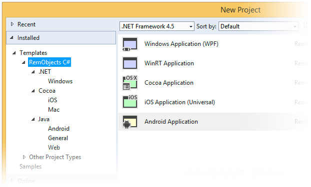 RemObjects Elements with Visual Studio 2015 v9.2.101.2181