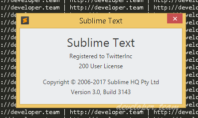 Sublime Text 3.0 Build 3143 Retail