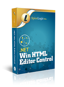 Spicelogic .NET WinForms HTML Editor Control 7.4.21.0 Retail