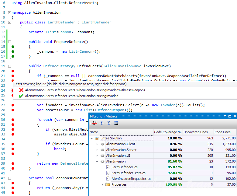 NCrunch v4.1 for Visual Studio 2008-2019