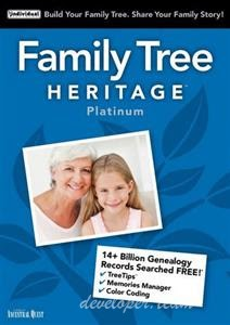 Individual Software Family Tree Heritage Platinum 15.0.6