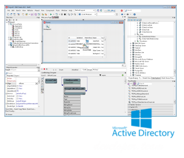 CData FireDAC Components for ActiveDirectory 17.0.6445