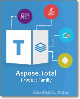 Aspose.Total for .NET v17.9