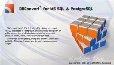 DMSoft DBConvert for MSSQL and PostgreSQL v3.6.1