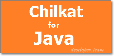 Chilkat JAVA Component for Windows 9.5.0.69