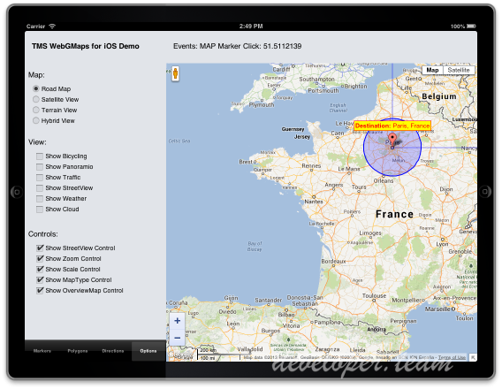 TMS FMX WebGMaps 2.9.1.1 Full Source
