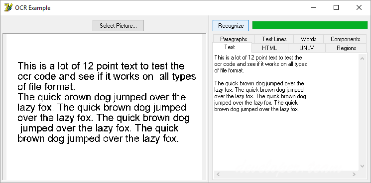 Optical Character Recognition Component 7.1 D5-D10.2