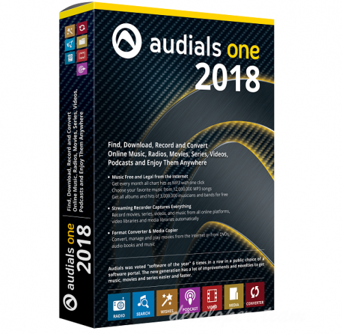 Audials One 2018.1.32900.0 Multilingual