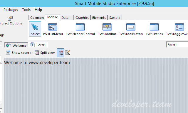 Smart Mobile Studio Enterprise 2.9.9.56 Alpha Retail