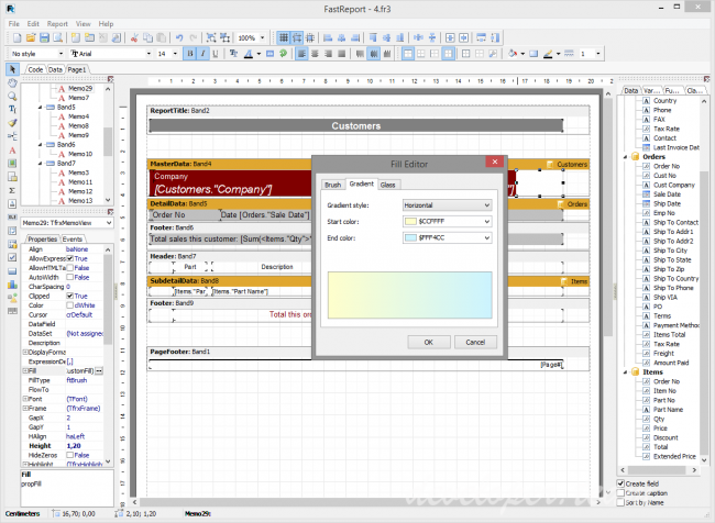 FastReport VCL Professional v6.4.12 Delphi 7 - Delphi 10.3.2 Rio Full Source