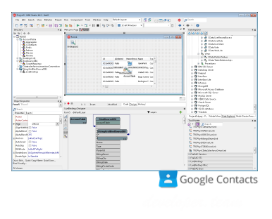 CData FireDAC Components for Google Contacts 17.0.6521