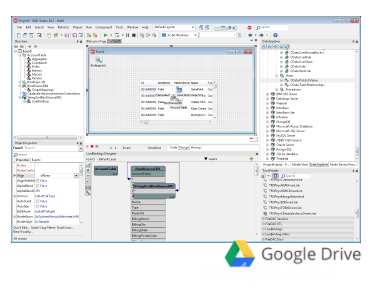 CData FireDAC Components for Google Drive 17.0.6556