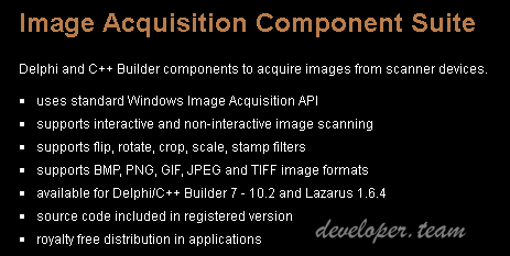 Winsoft Image Acquisition Component Suite 1.2 Full Source