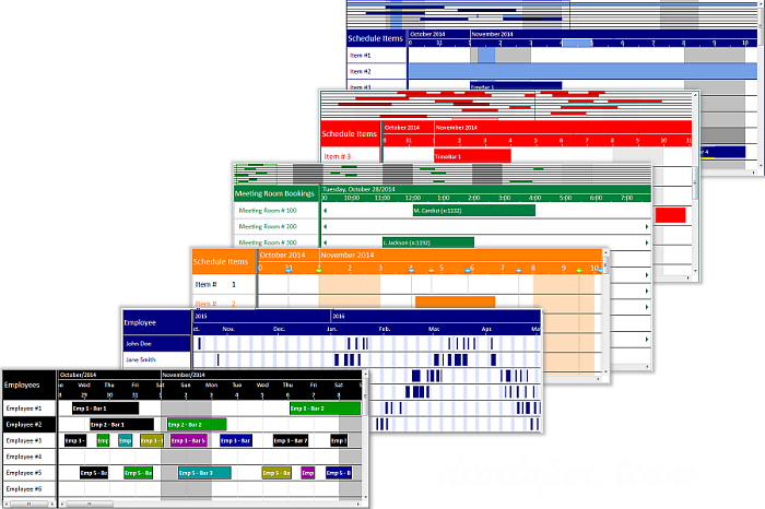 Solutions Schedule for COM v11.0.0.3 ActiveX