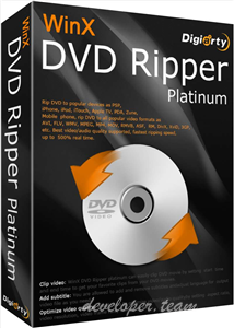 WinX DVD Ripper Platinum 8.6.0.208 Build 17.10.2017