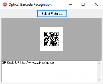WinSoft Optical Barcode Recognition for .NET v2.1