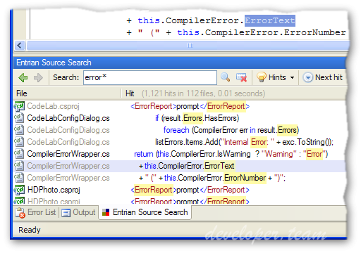 Entrian Source Search 1.7.14