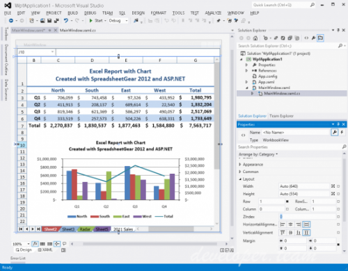 SpreadsheetGear 2017 .NET 8.1.56.101