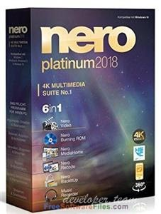 Nero Platinum 2018 Suite 19.0.10200  + Content Packs