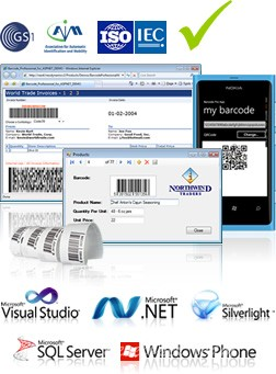Neodynamic Barcode Professional SDK for .Net v6.0
