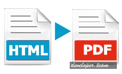 SubSystems HTML to PDF Converter for.Net v12.0