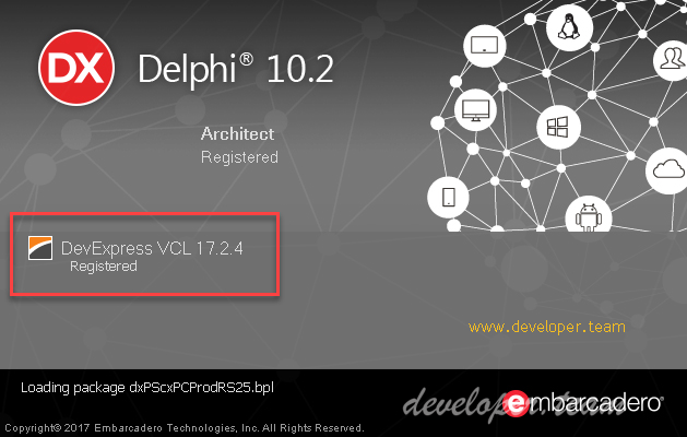 DevExpress VCL 17.2.4 Full Source with DxAutoInstaller 2.1.9