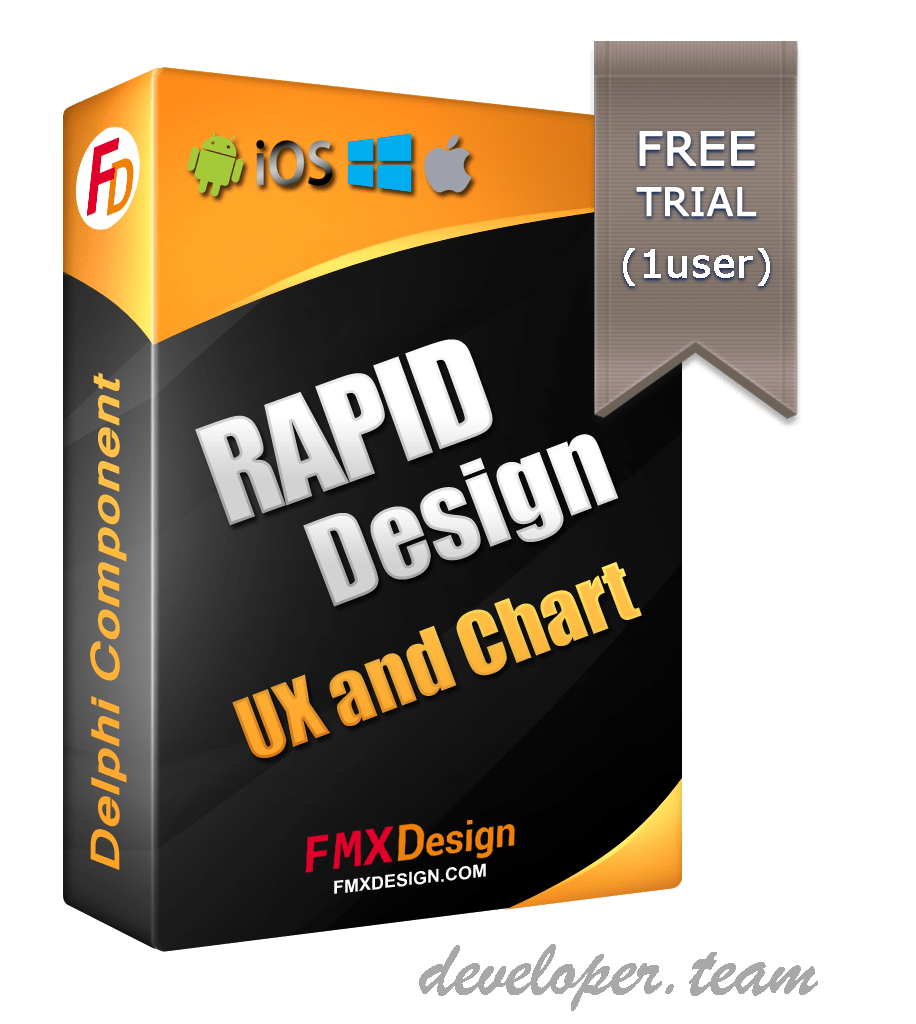 RDesign UX + Chart for Delphi FMX v1.1