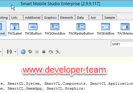 Smart Mobile Studio Enterprise 3.0.0.201 Beta1 Retail