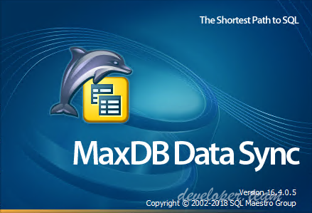 MaxDB Data Sync Professional 16.4.0.5
