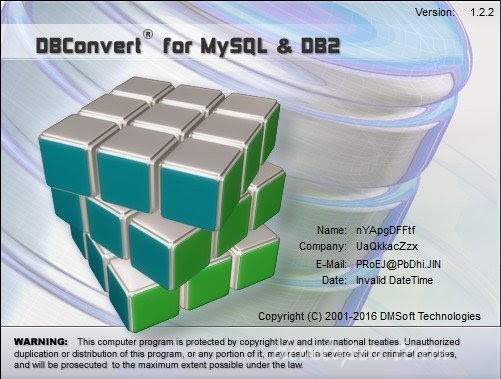 DMSoft DBConvert for MySQL and DB2 1.2.2