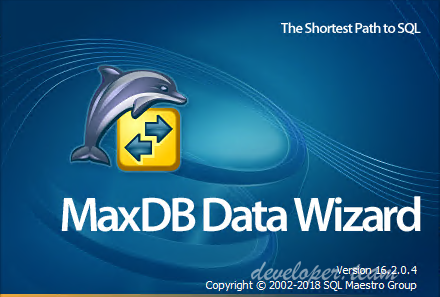 MaxDB Data Wizard Professional 16.2.0.4