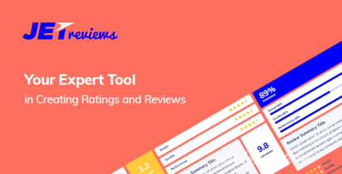 JetReviews v1.0.0 - Reviews Widget for Elementor Page Builder