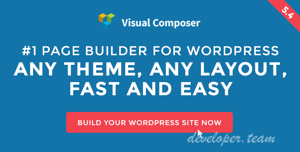 Visual Composer v5.4.7 - Page Builder for WordPress