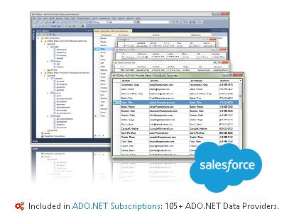 Salesforce ADO.NET Provider 17.0.6642 Retail
